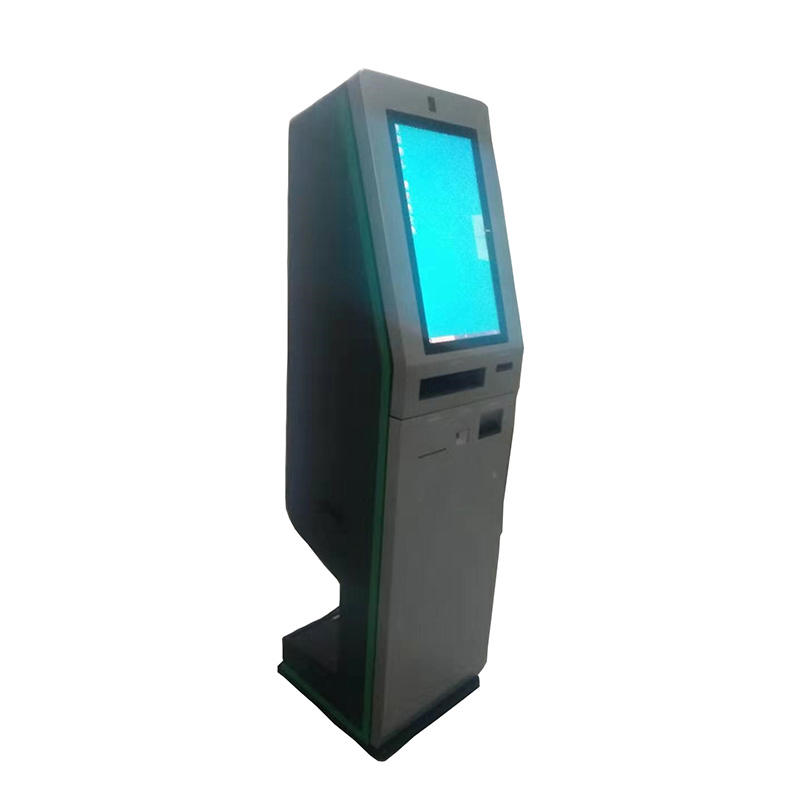 digital signage hotel kiosk with check in check out and cash paying function