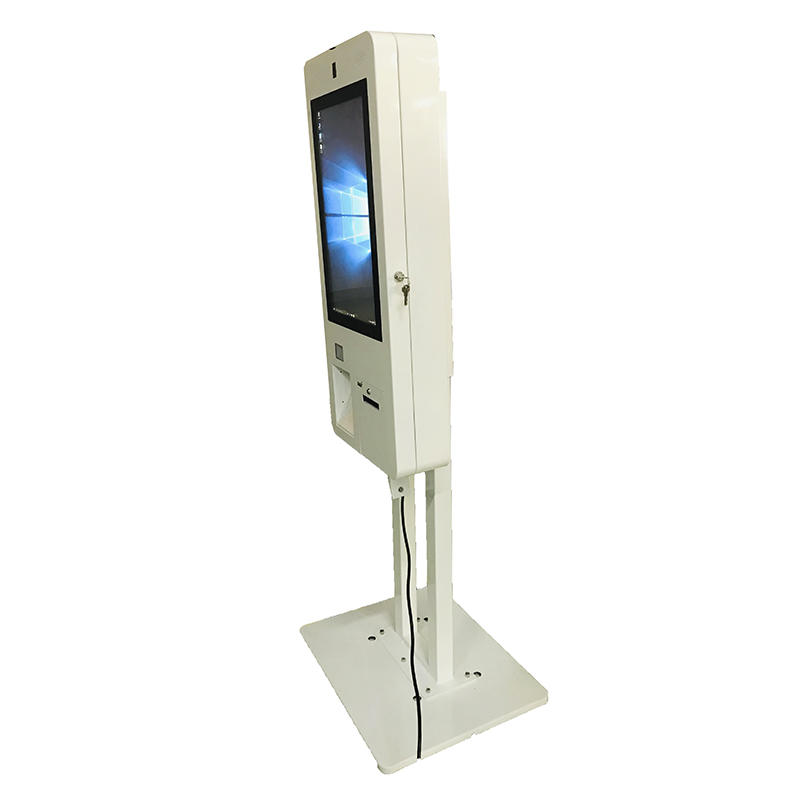 Customized Self Service Ordering Kiosk With Credit Card Reader