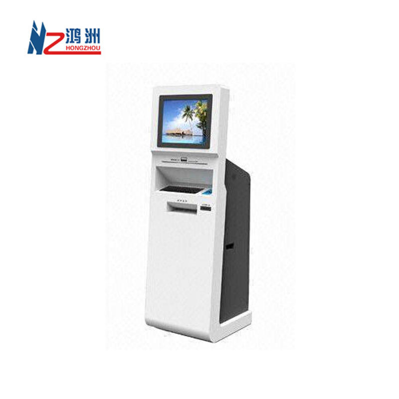 Self-service Information Kiosk with A4 Printer from Shenzhen Factory