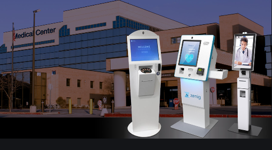 document self service printing kiosk for government