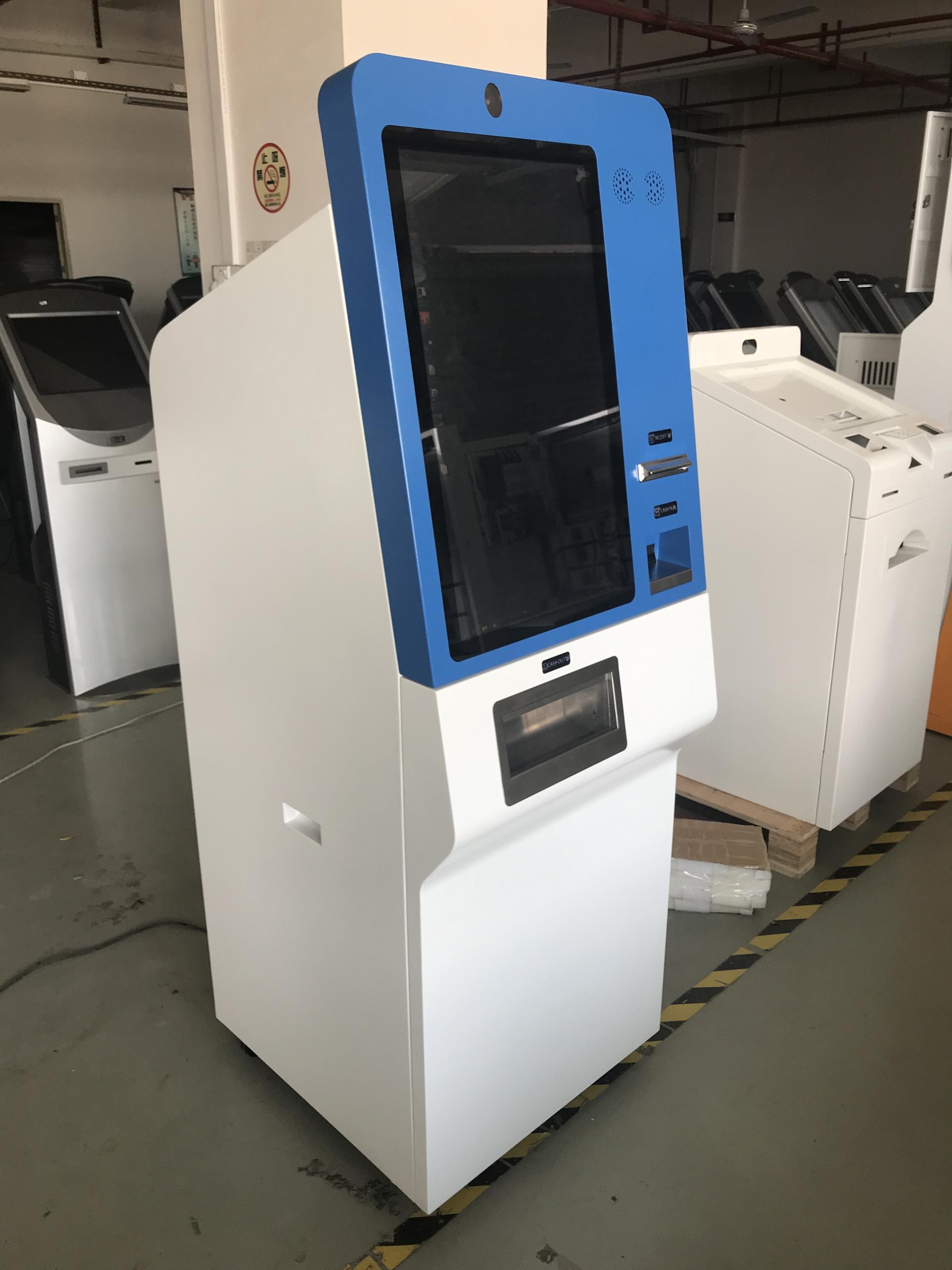 Shenzhen Hongzhou Currency Exchanging Kiosk ATM Machine Bill Dispenser