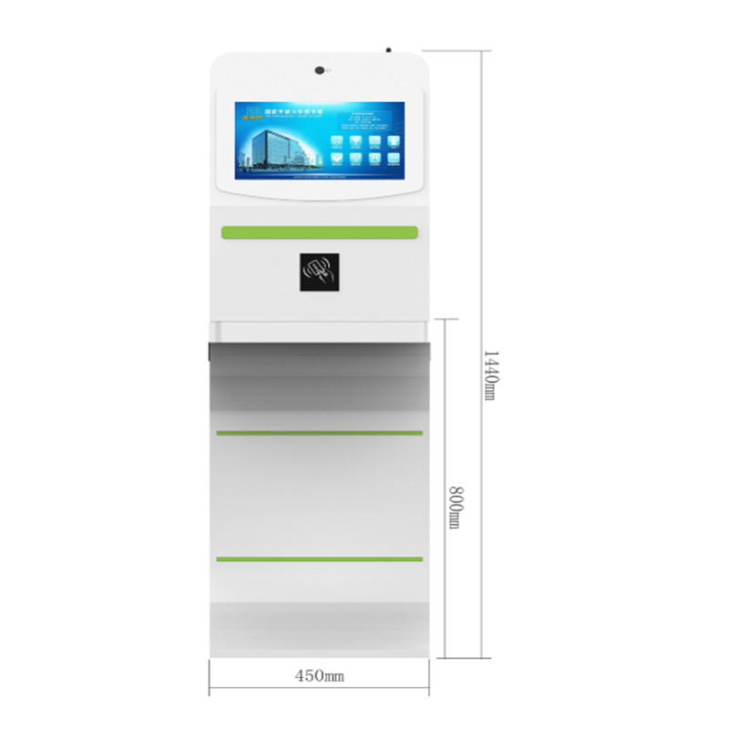 interactivefreely check ins check out self service library kiosk