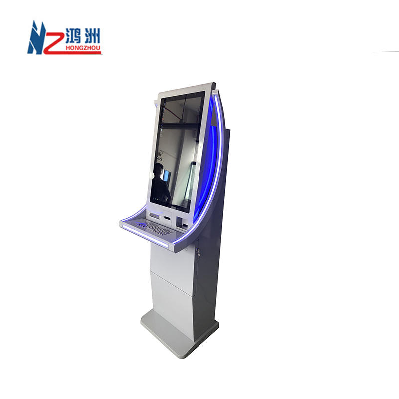 Cash Validator Dispenser Barcode Scanner Rfid Reader Payment Interactive Kiosk