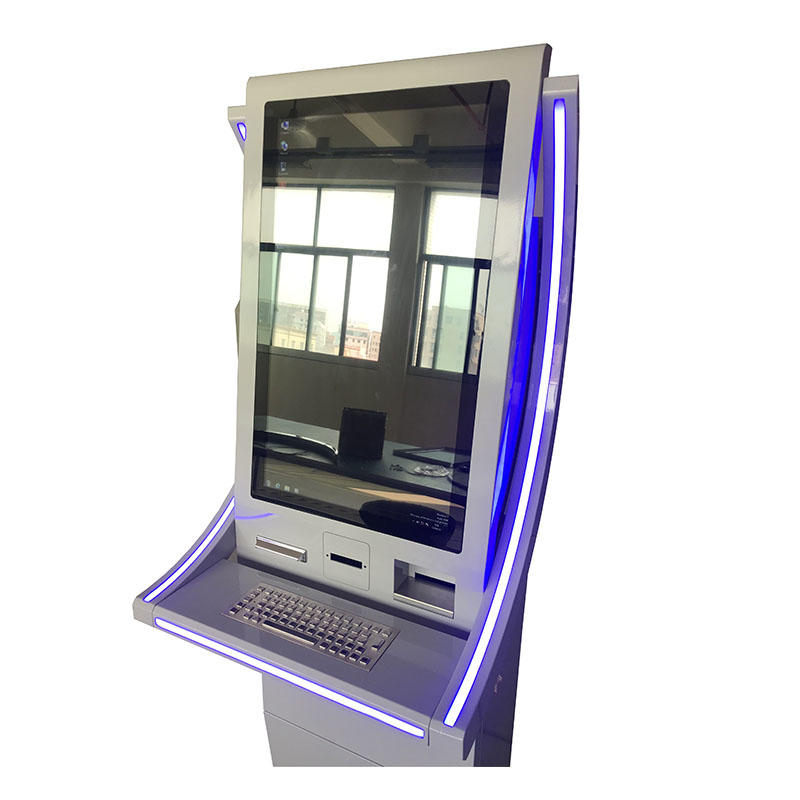 Free standing dual screen Gift Card SIM Card vending machine