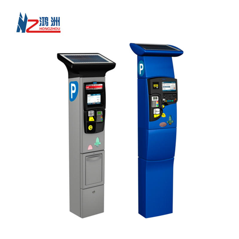 Touch Screen Self Service Parking Kiosk With Barcode Reader/Card Reader
