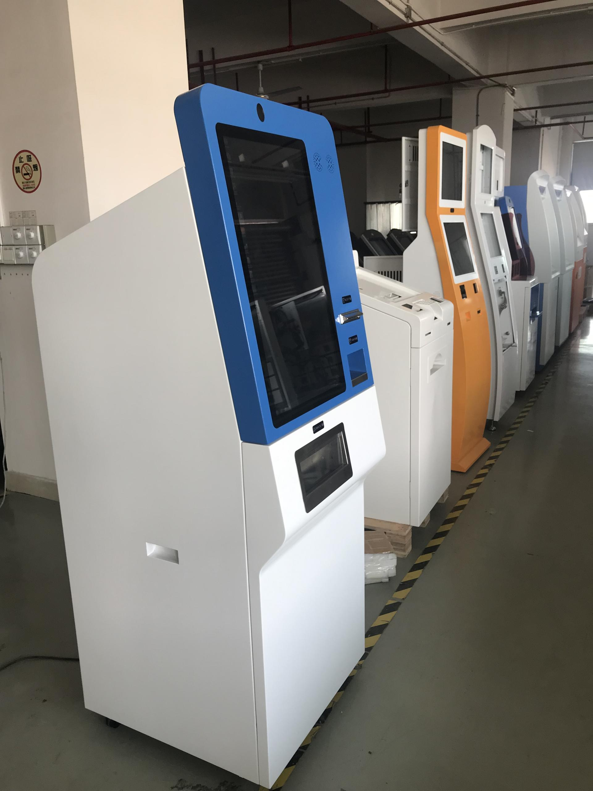 Shenzhen Hongzhou Currency Exchanging Kiosk ATM Machine Bill Dispenser