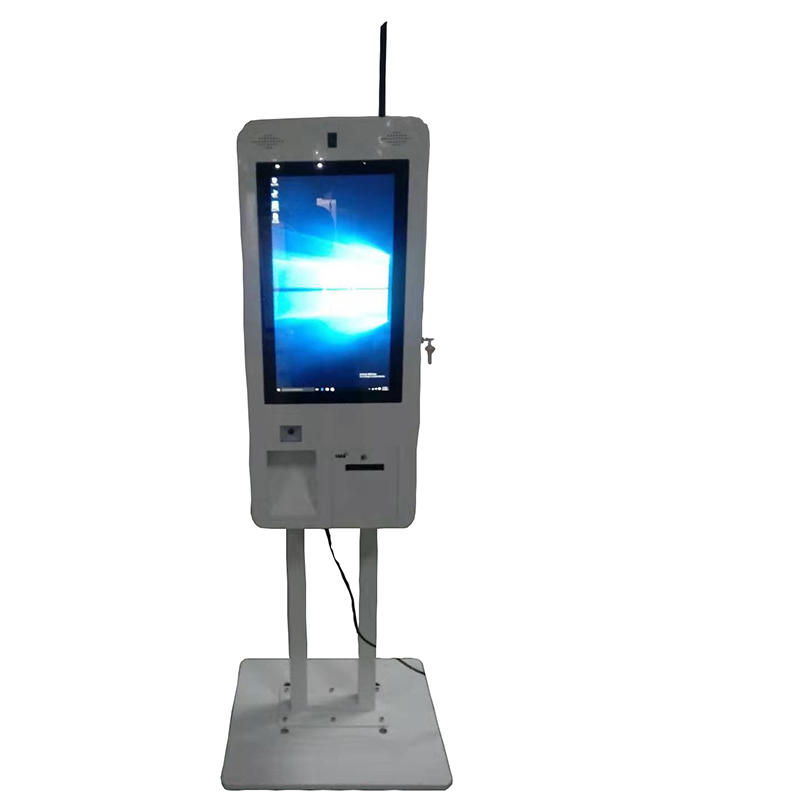 smart 21.5'' touch terminal menu order kiosk online kiosk