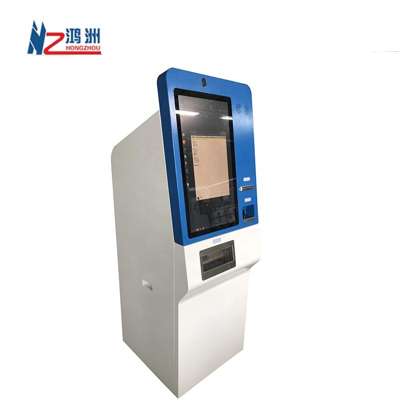 Kiosk Manufacturer Self Service Bank Kiosk With Cash Acceptor And Cash Dispenser