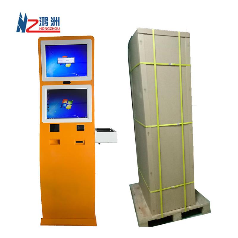Windows OS touch screen payment kiosk bill acceptor Machine