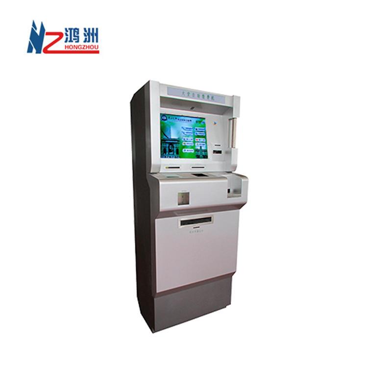 Compatible Various Software Windows OS self service cash register kiosk For Bank
