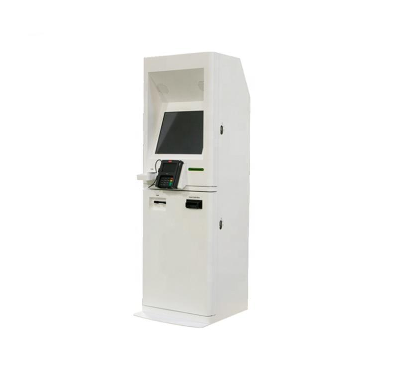 Smart automobile floor standing kiosk machine with self payment function