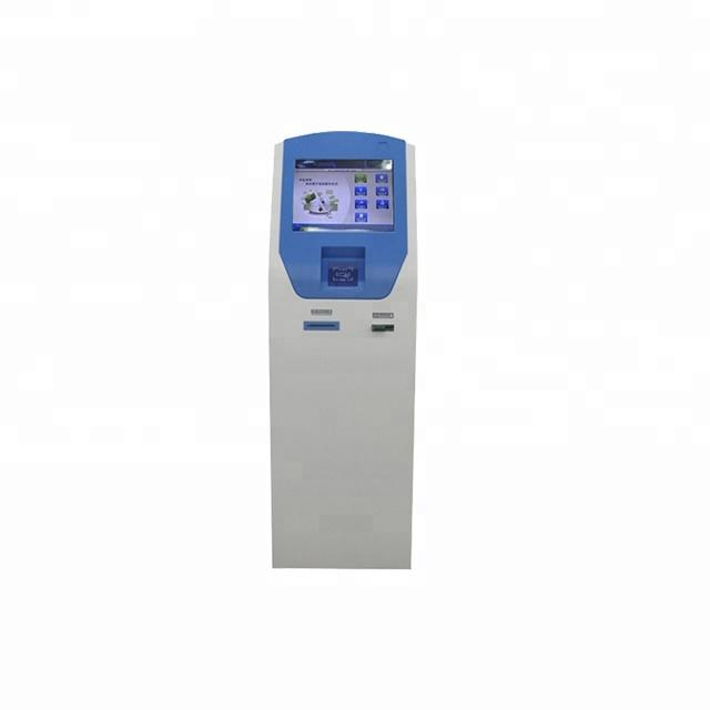 Professional Automated Cash Payment Kiosk in China manufacture