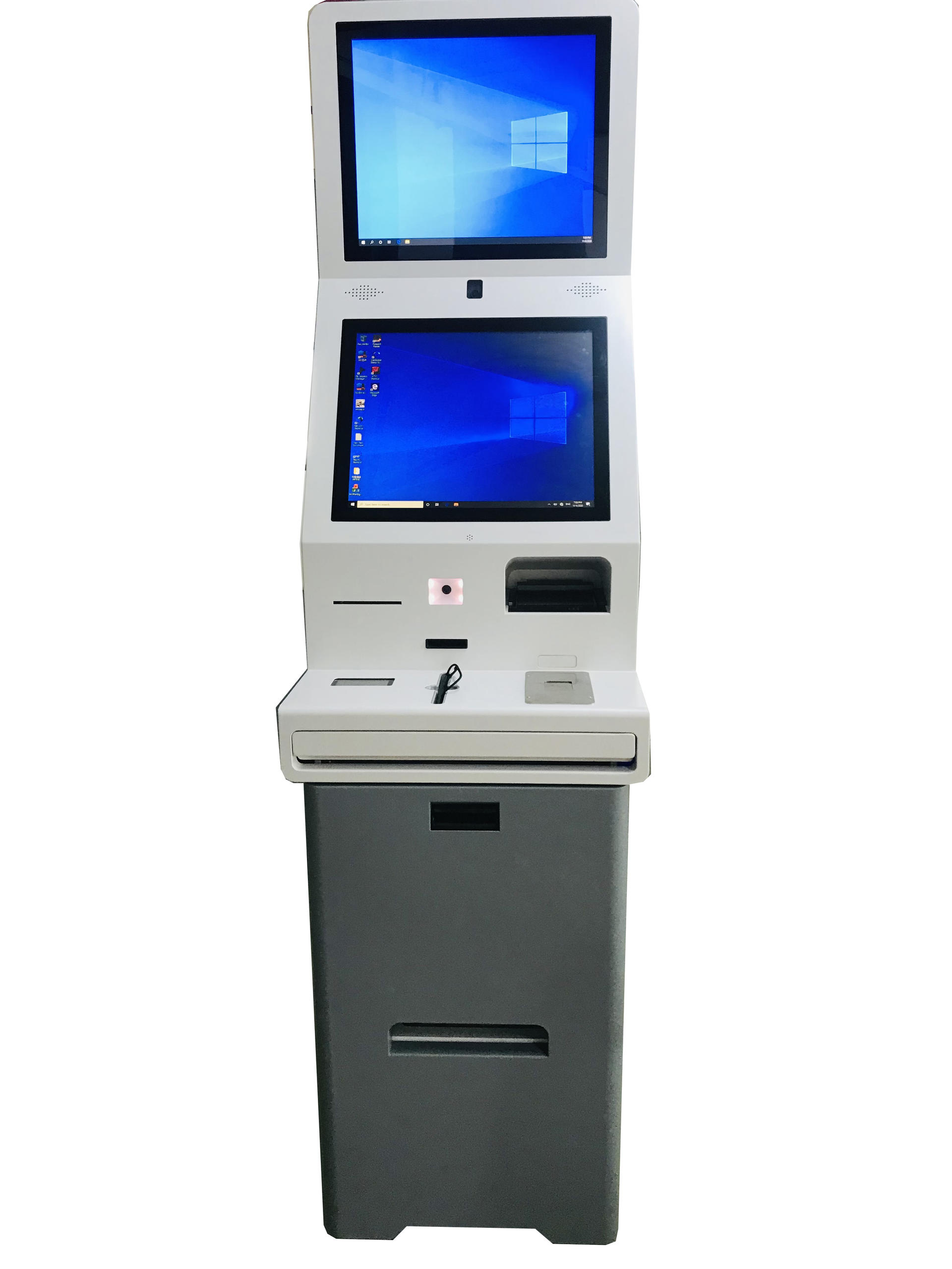 Hotel Kiosk Room Card Dispenser with Hotel Management System