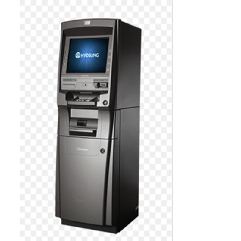 upright smart bitcoin ATM kiosk termimal with casino accepting bank card