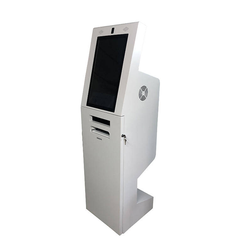 Telecom Self Service Payment Kiosk A4 Document Laser Printing ATM Banking Machine