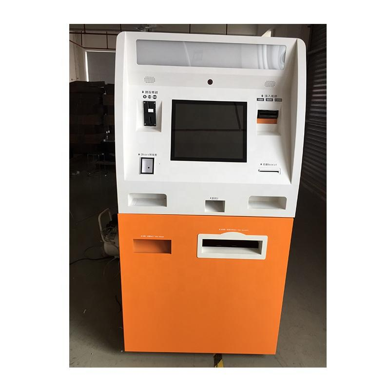 Self service kiosk for ID card application and dispenser Shenzhen manufacturer
