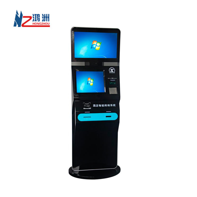 Multifunction Card Dispenser Kiosk with Passport Scanner/ID card Scanner