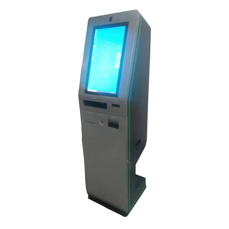 hotel self service digital signage kiosk with casino accepting