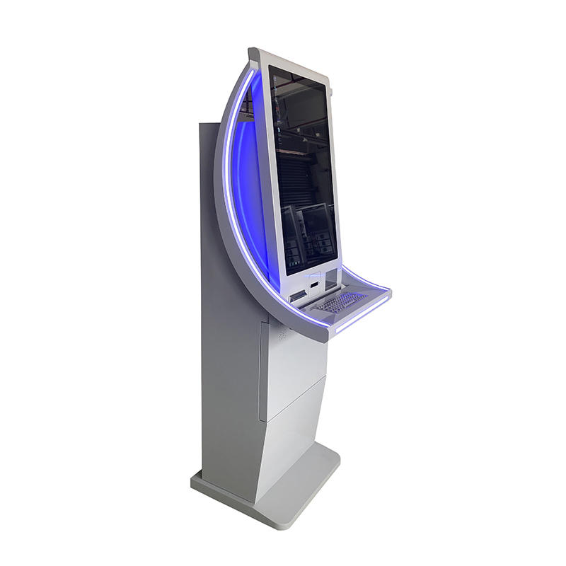 Free standing dual screen Gift Card SIM Card vending machine