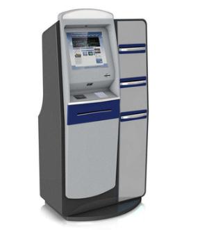 standing school report self printing kiosk for student