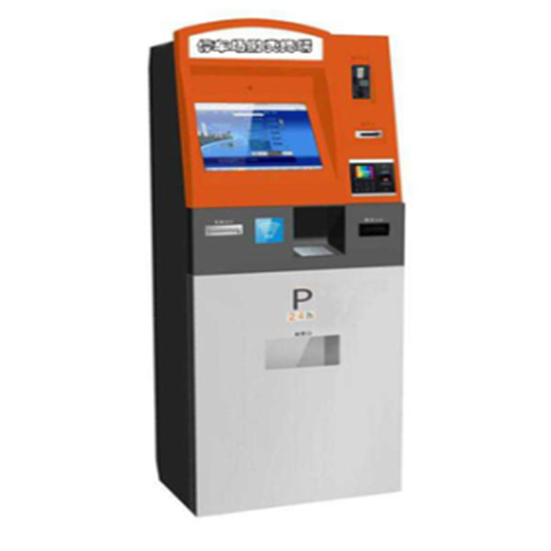 smart self service kiosk for parking lot with printing function
