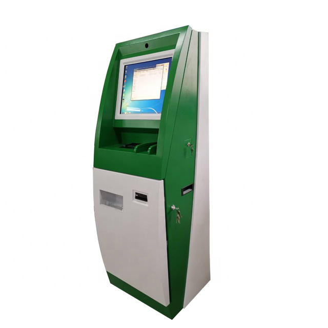 Card dispenser payment kiosk for RFID card vending machine