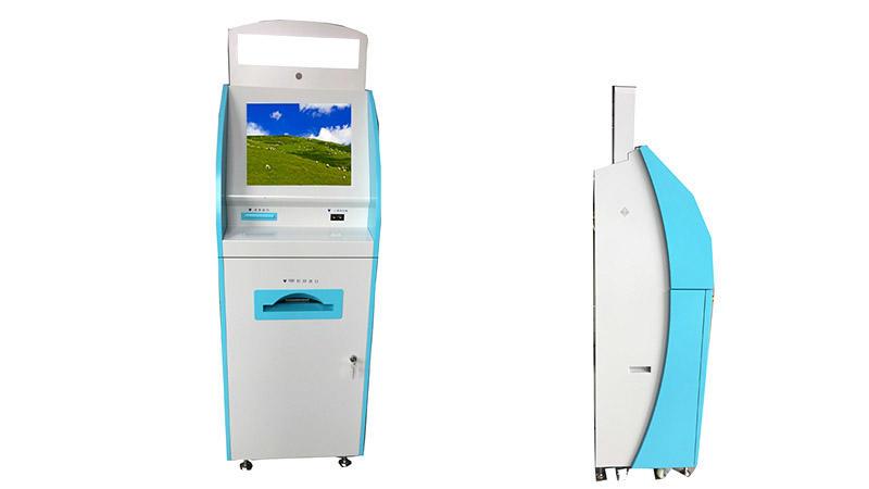 passport allocation kiosk identification card dispense kiosk
