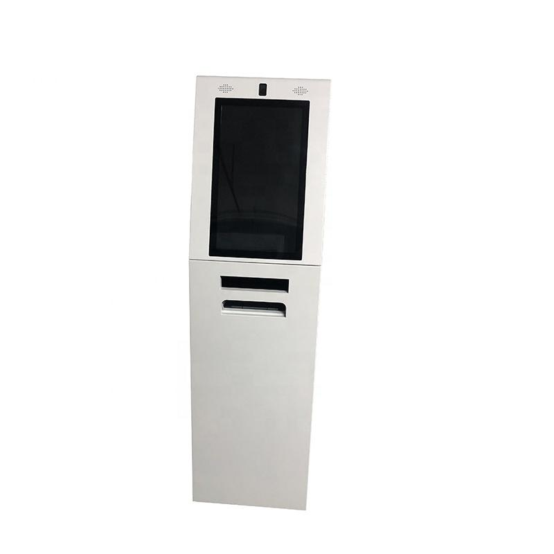 Free standing A4 Laser printer kiosk withVending Machine self service kiosk