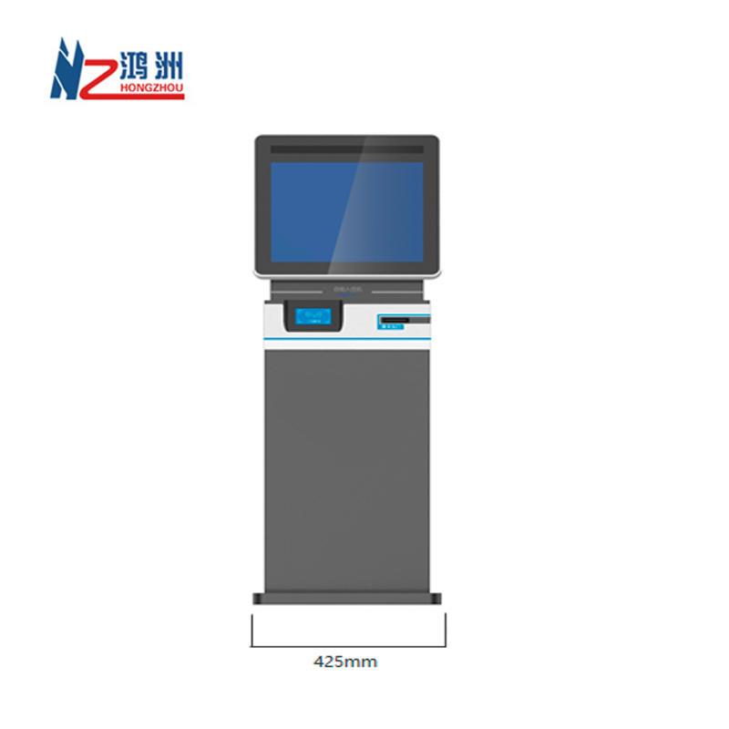Dual Screen RFID Room Card Dispenser Hotel Check in Kiosk