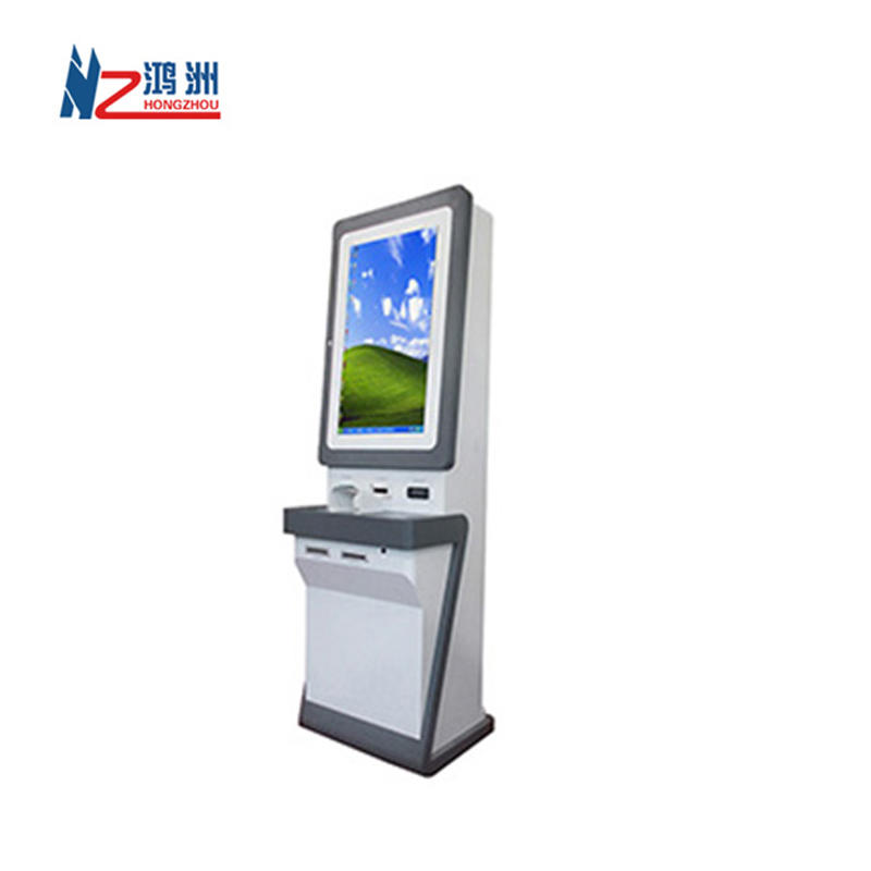 Dual screen dispenser Windows bill acceptor payment kiosk