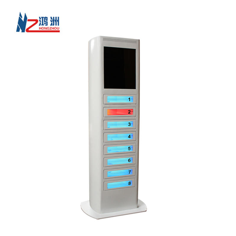 Customized Self Service Payment Kiosk Cell Phone Charging Kiosk