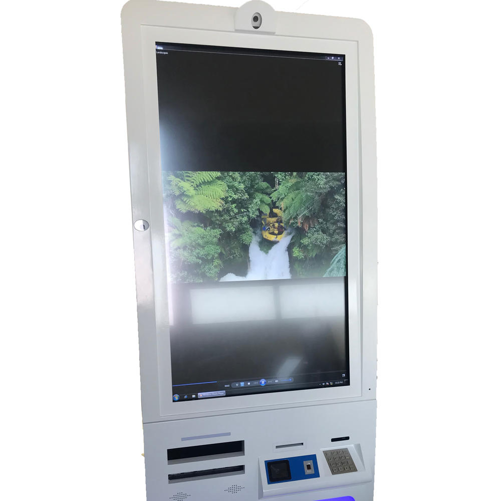 Customized Self Service Report Printing kiosk With Printer
