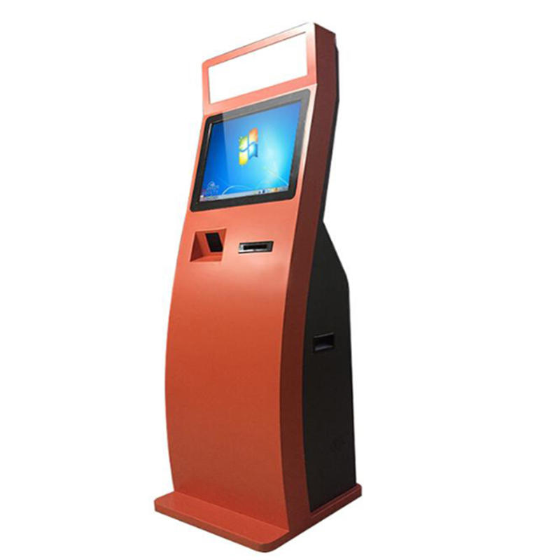 smart all in one self service ticket vending Kiosk