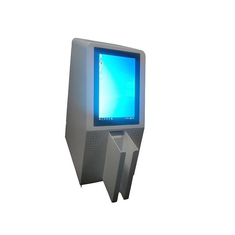 flexable interactive card distribution kiosk for floating population management
