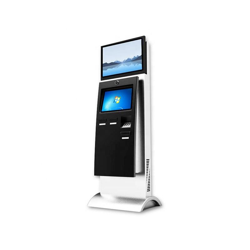 Customized Smart full HD LCD Touch Screen Self Payment Kiosk