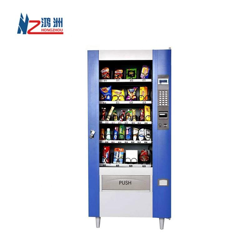 Floor standinghigh quality vending kiosk for selling snacks and drinks from Shenzhen factory