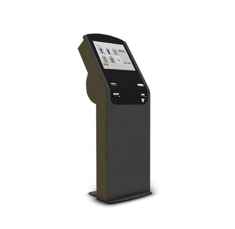 Shenzhen China self service cash register kiosk with thermal printer indoor