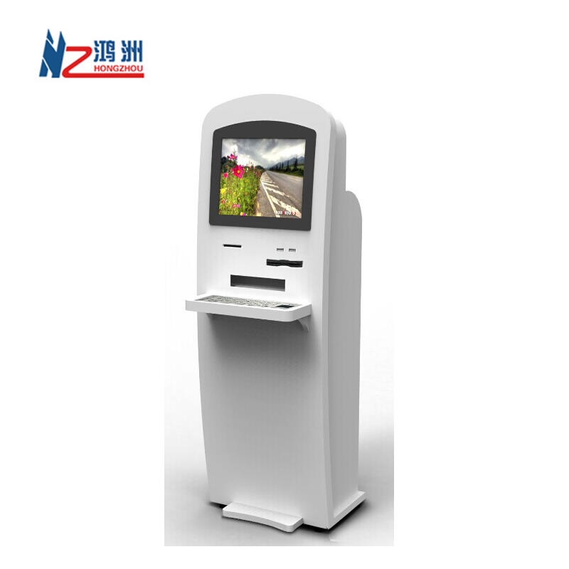 Windows PC internet kiosk with card scanner for library
