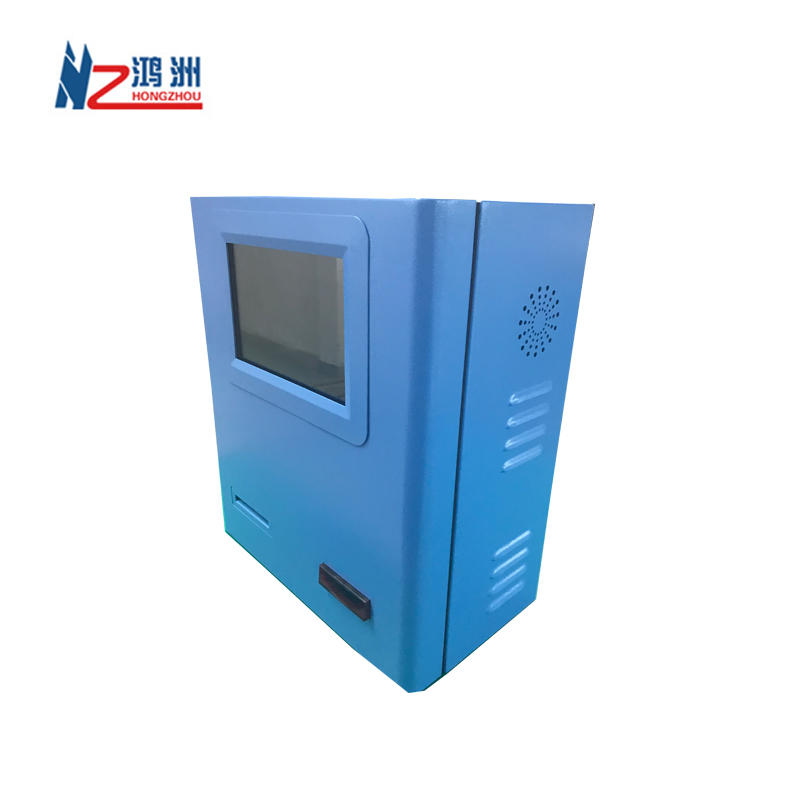 OEM wall mount kiosk with WIFI camera and RFID card reader