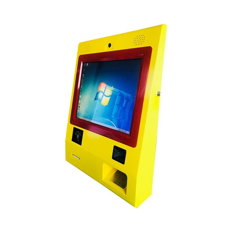 21 inch Floor standing LED touch screen ticket Kiosk