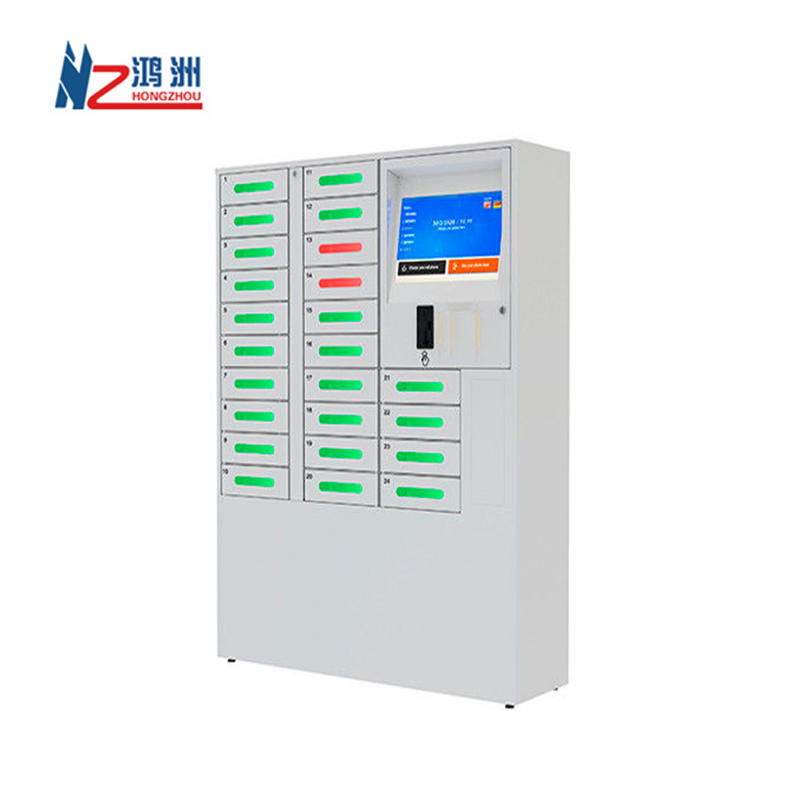 Promotions Touch screen Mobile Charging Kiosk With Payment System