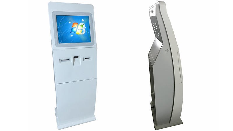 Lobby standing self service payment Kiosk With optional modules