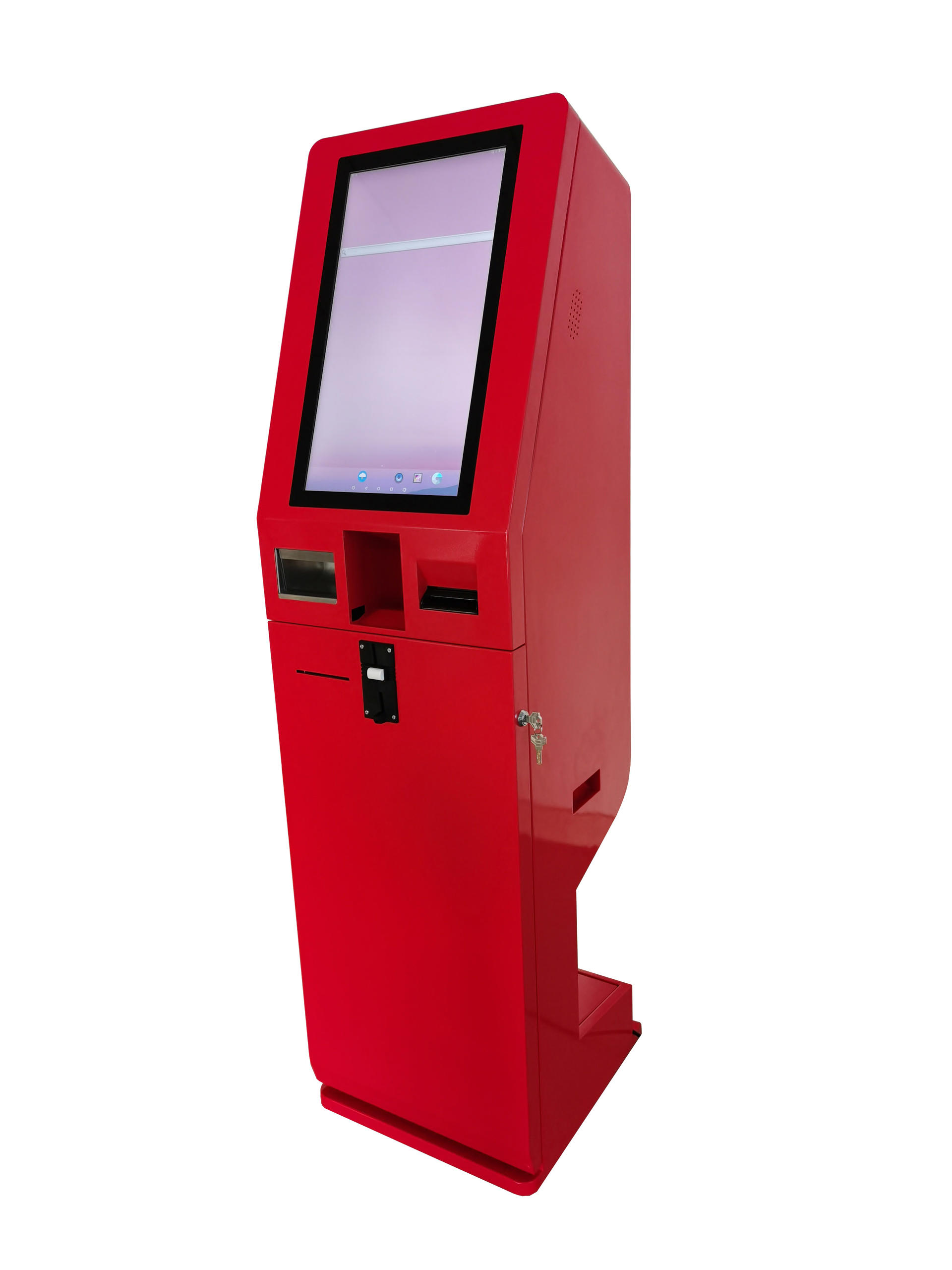 21.5 Inch Self-service Ordering Payment Kiosk With Coin Acceptor and Dispenser