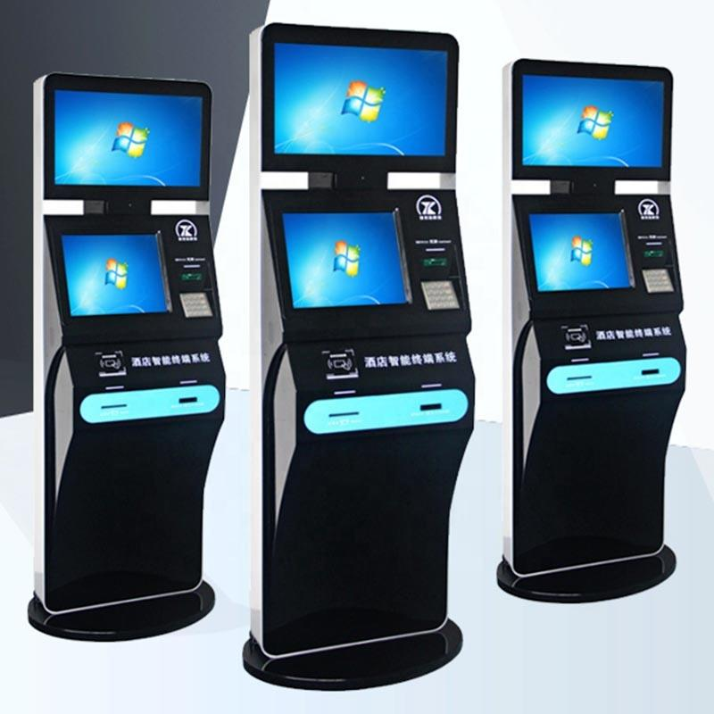 High quality 19 inch touch screen kiosk for check-in and check-out with competitive prices Shenzhen factory