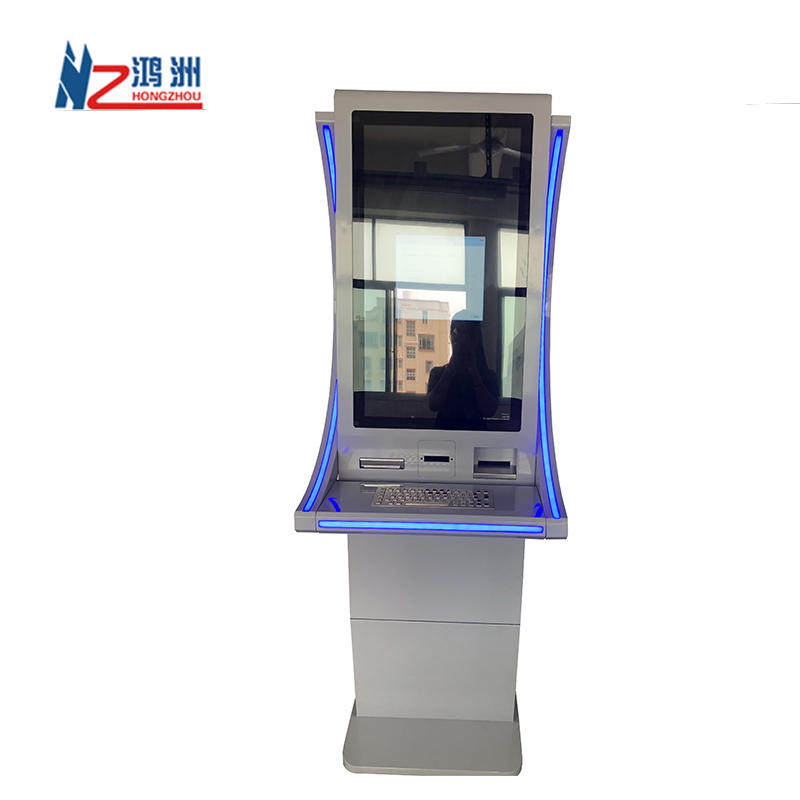 Prepaid Card Printing Kiosk with Recharge Dispenser