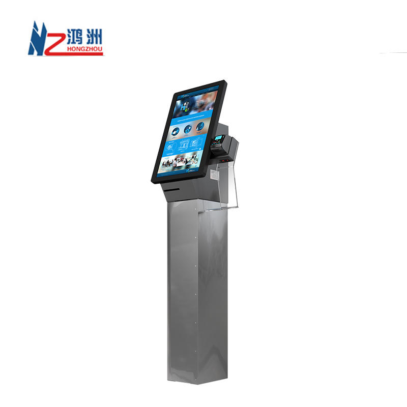 Ticket Vending Machine Ordering Kiosk,Fast Food Restaurant Wall Mounted Self Service Payment Kiosk