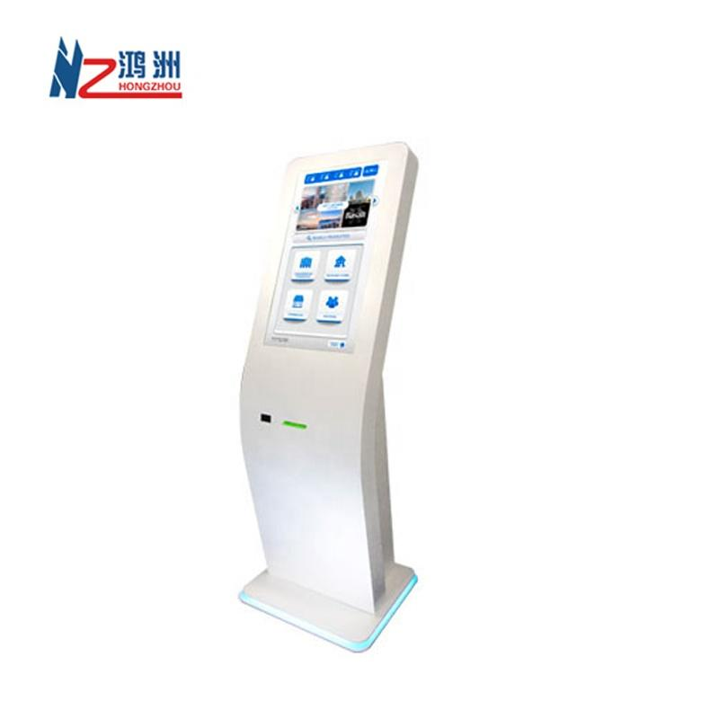 Beautiful design dual screen interactive payment kiosk with dispenserand bill acceptorfunction