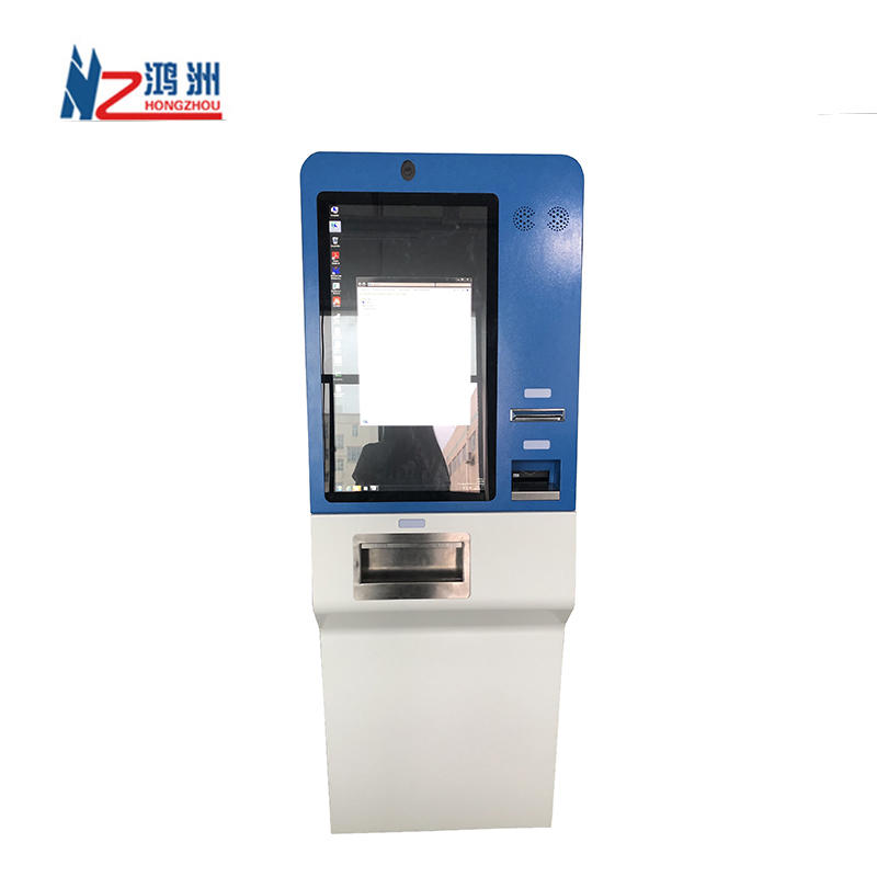 High Quality Self-service Cash Accept Deposit Kiosk Machine Terminal For Bank