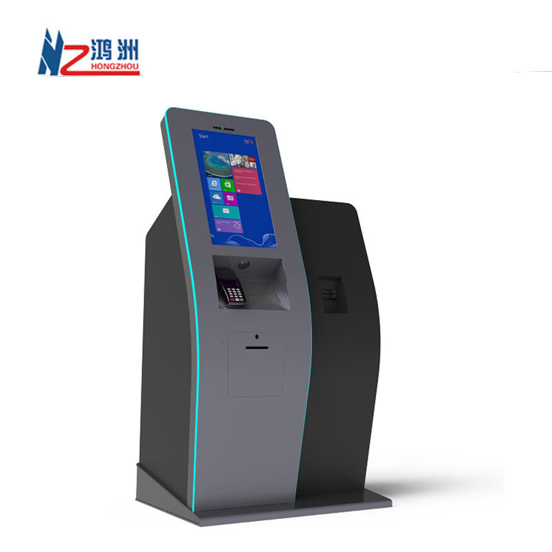 Customized Supplier Checkout Hotel Self Service Kiosk With Printer 10.1 15 17.3