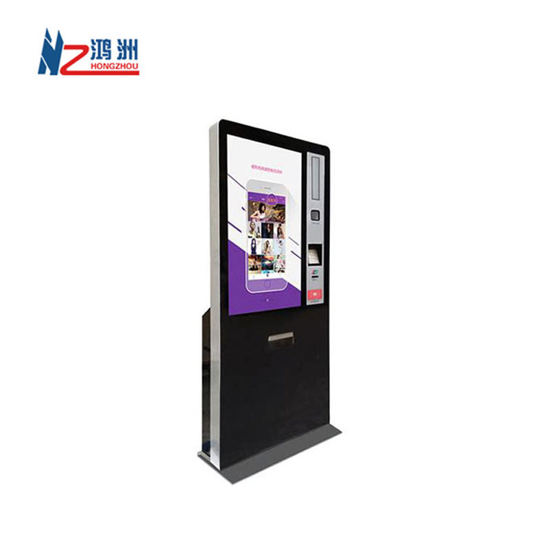 Shenzhen factory ticket printer kiosk with WIFI and camera in cinema